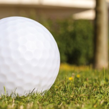 Golf ball luminos