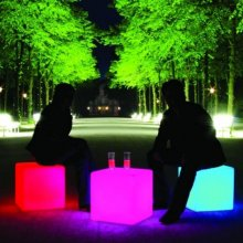Cube LED Accu Outdoor - Multicolor